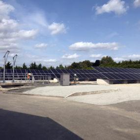 panneaux photovoltaïque mayenne inno watt station épuration