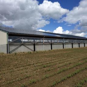 panneau photovoltaique batiment agricole mayenne