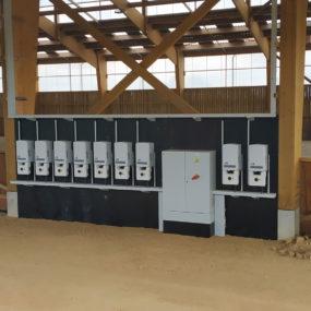 panneau photovoltaique manège à chevaux mayenne